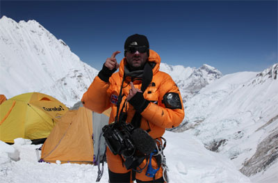 Ed Wardle prepares for the summit push